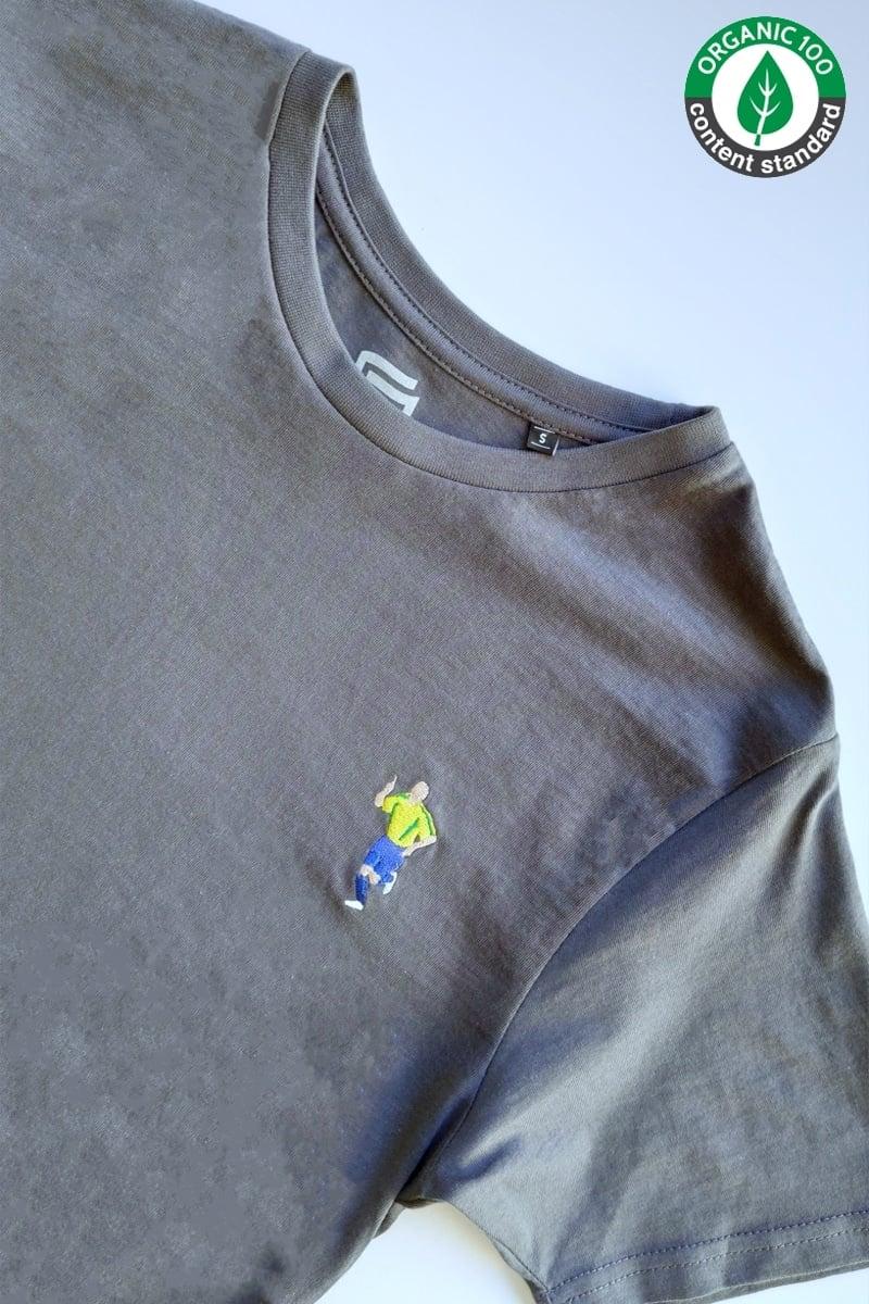 Camiseta O Fenomeno Gris Marengo