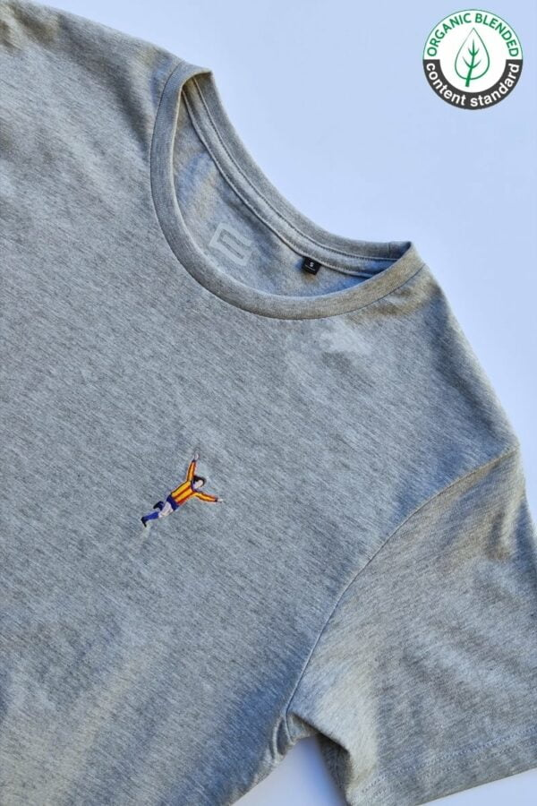 Camiseta Senyera Gris