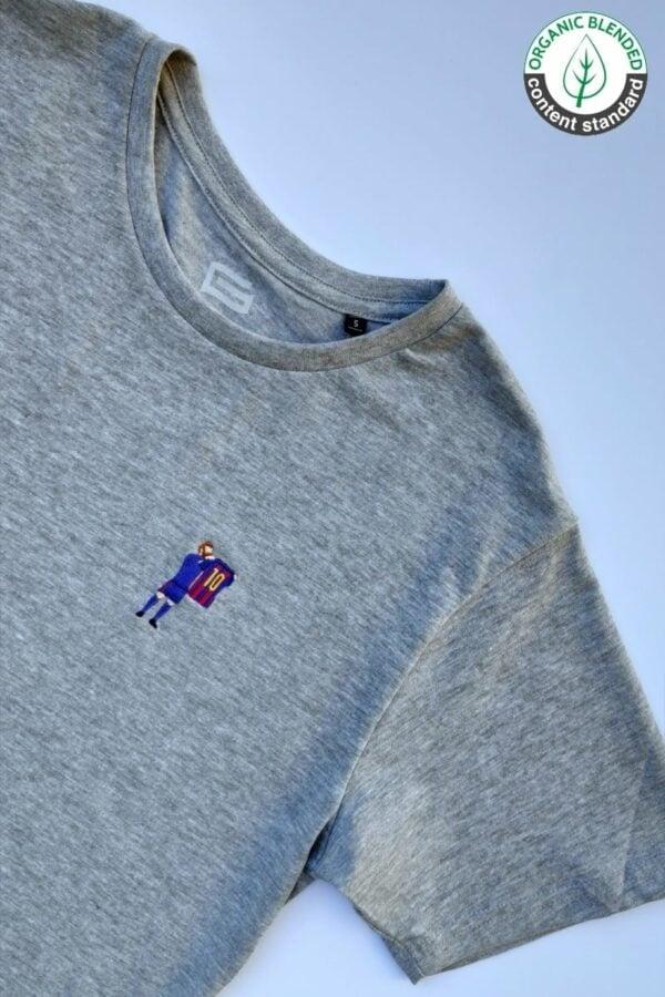 Camiseta Diez Gris