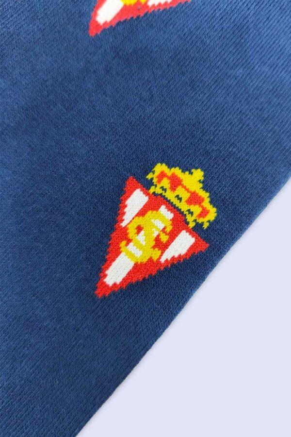 Calcetines Escudo Sporting